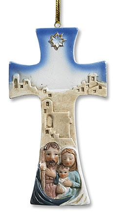 Holy Family  Cross  - 6/pk