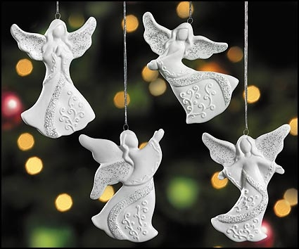 Angel Assortment Ornaments