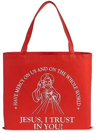 Divine Mercy Tote Bag