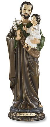 St. Joseph with Child Statue