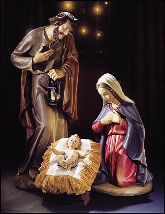 "3-pc Nativity Set - 32"""