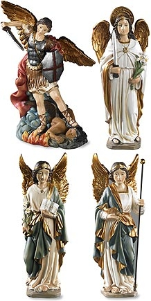 Archangel Figurine Set