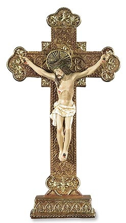 Ornate Standing Crucifix - 2/pk