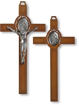 St. Benedict Wall Crucifix
