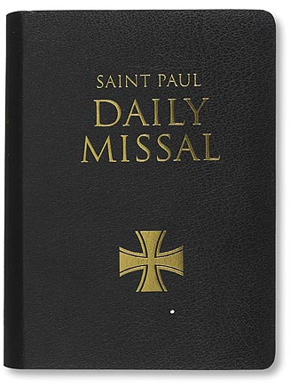 St Paul Daily Missal - Black