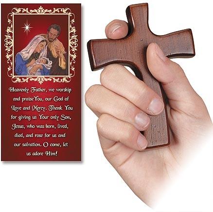 Christmas Hand Cross