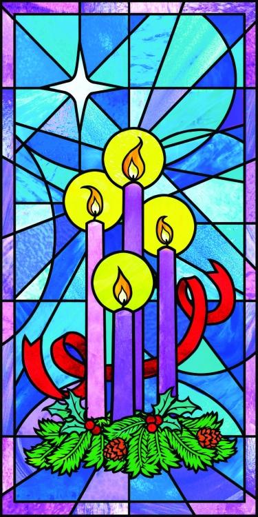 celebrate advent canvas banner church supplies
