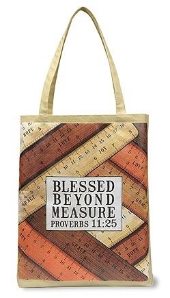 Blessed Beyond Measure Tote Bag