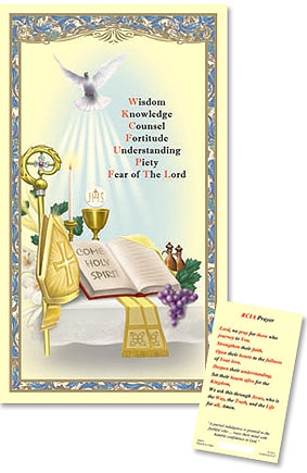 RCIA Laminated Holy Card - 25/PK