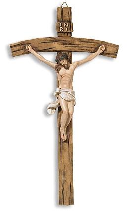 Papal Wall Crucifix