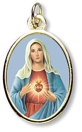 Immaculate Heart of Mary Medal - 24/pk