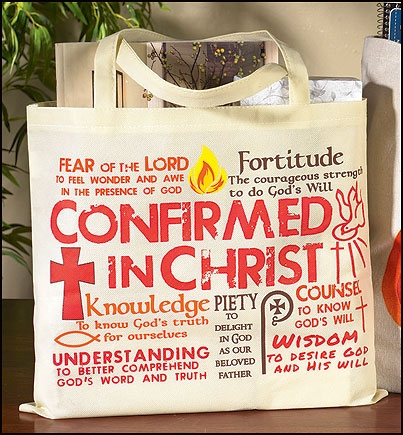 Gifts of the Holy Spirit Confirmation Tote Bag - 12/pk