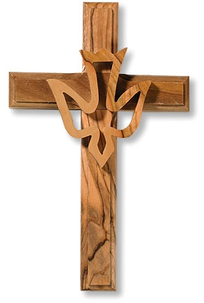 Holy Spirit Wall Cross - 2/pk