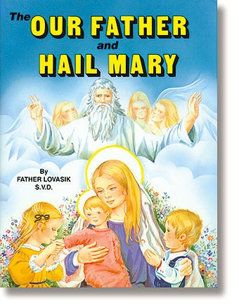 St. Joseph Picture Book - The Our Father and Hail Mary - 10/pk