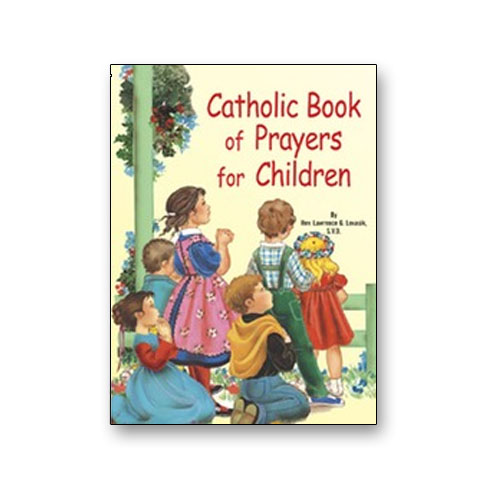St. Joseph Picture Book - Catholic Book of Prayers for Children