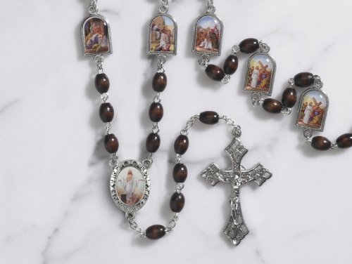 Stations of the Cross Chaplet Gift Set