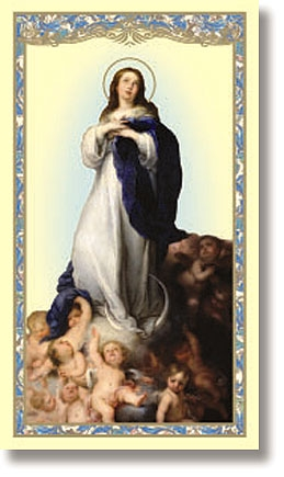 The Assumption Holy Card - 100/pk