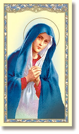 Pro-Life Holy Card - 100/pk