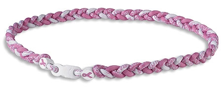 Breast Cancer Awareness Braided Sport Neckwear - 8/pk