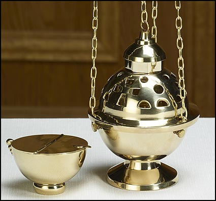 Hanging Censer and Boat Set