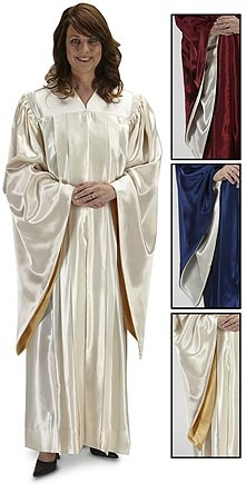 Pointed Sleeve Choir Robes