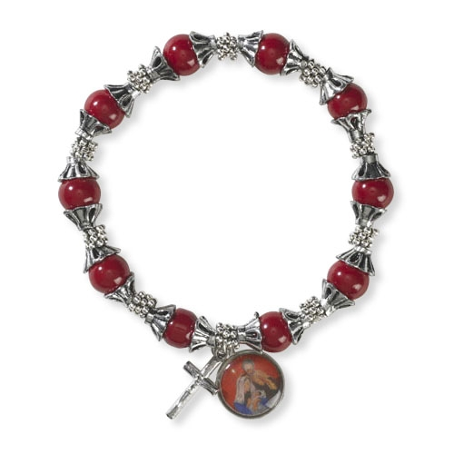 Nativity Christmas Bracelet - 12/pk