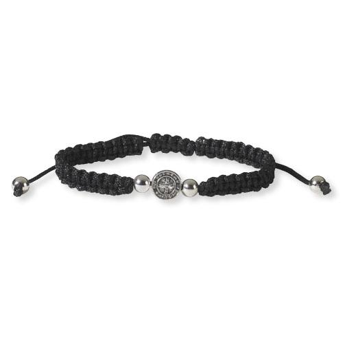 St. Benedict Braided Bracelet - 12/pk