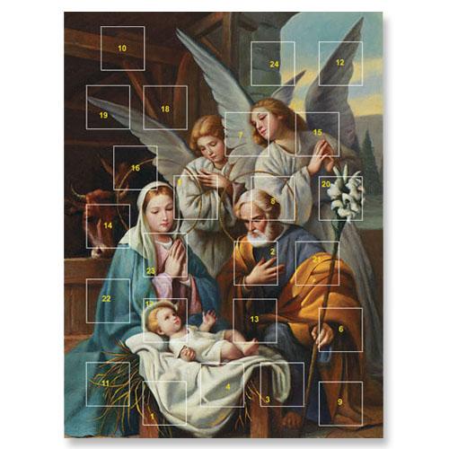 Blessed Art Thou Advent Calendar - 12/pk