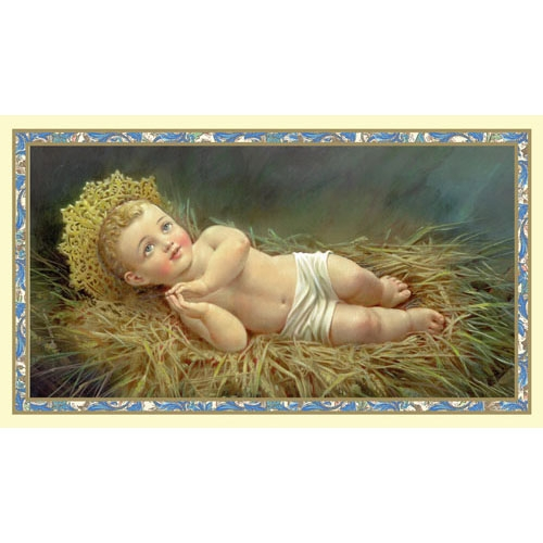 Christ Child Christmas Holy Card - 100/pk