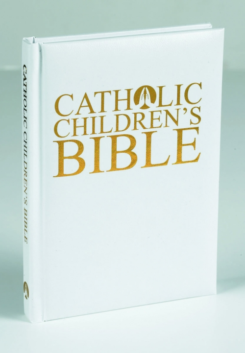 Illustrated Children's Bible - Gift Edition, White