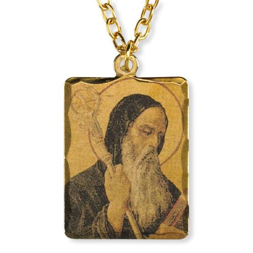 Saint Benedict Patron Saint Pendant