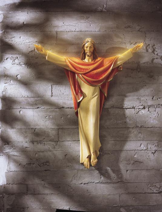 "24"" Risen Christ Statue"