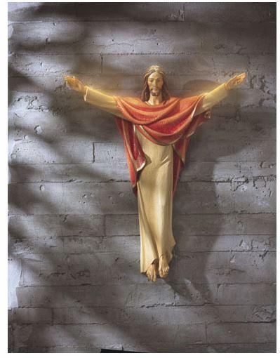 "36"" Risen Christ Statue"