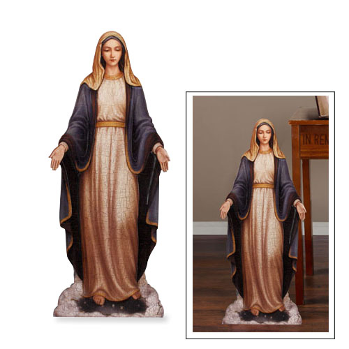 Marco Sevelli Our Lady of Grace Plaque