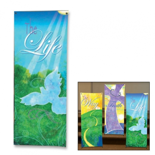 Life in Christ Series X-Stand Banner - The Life