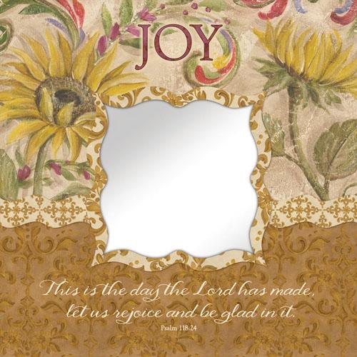Joy - Psalm 118:24 Mirror Wall Art