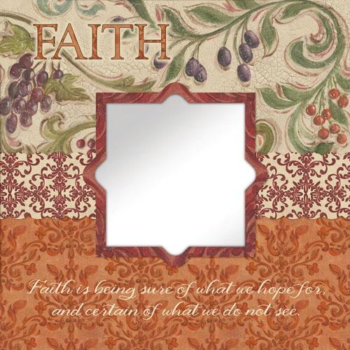 Faith Mirror Wall Art