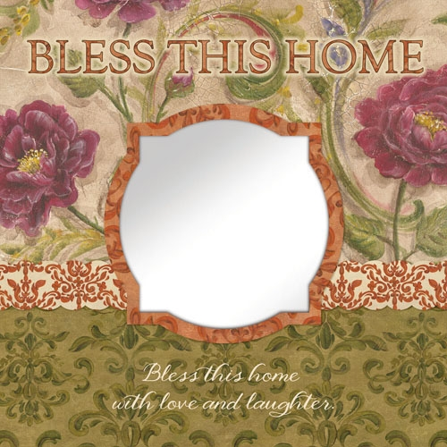 15x15 Bless This Home Wall Art