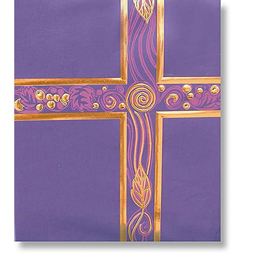 Ceremonial Deep Violet with Gold Foil Service Binder
