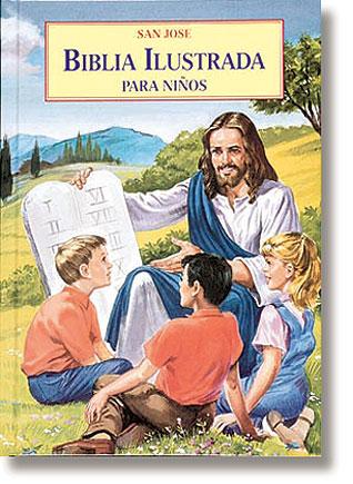Biblia Ilustrada para Ninos (Illustrated Children's Bible)