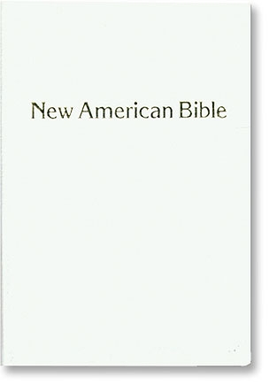 White St Joseph New American Bible - Personal Size Gift Edition (NABRE)