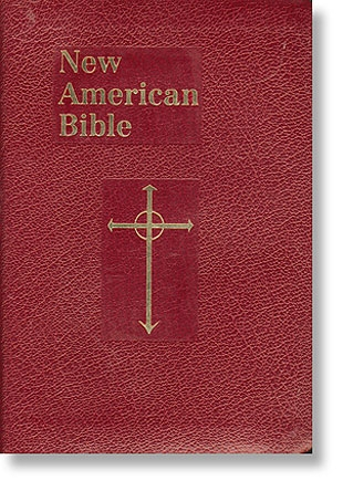 Burgundy St Joseph New American Bible - Personal Size Gift Edition (NABRE)