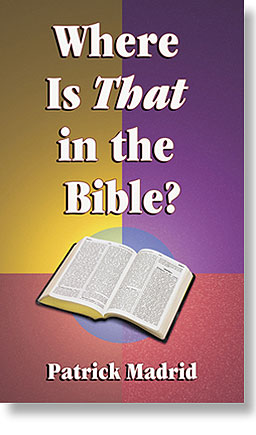 Where is THAT in the Bible?
