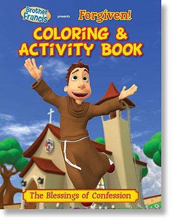 Forgiven Coloring & Activity Book