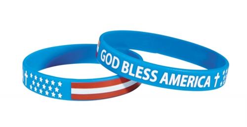 God Bless America Bracelet - 24/pk