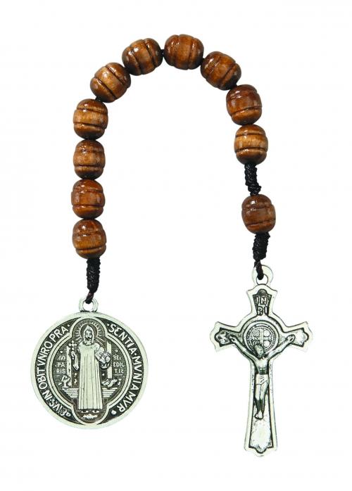 St. Benedict Pocket Rosary - 12/pk