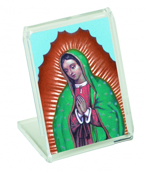 Our Lady of Guadalupe Desk Stand - 12/pk