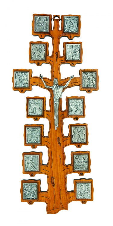 Stations of the Cross Wall Crucifix