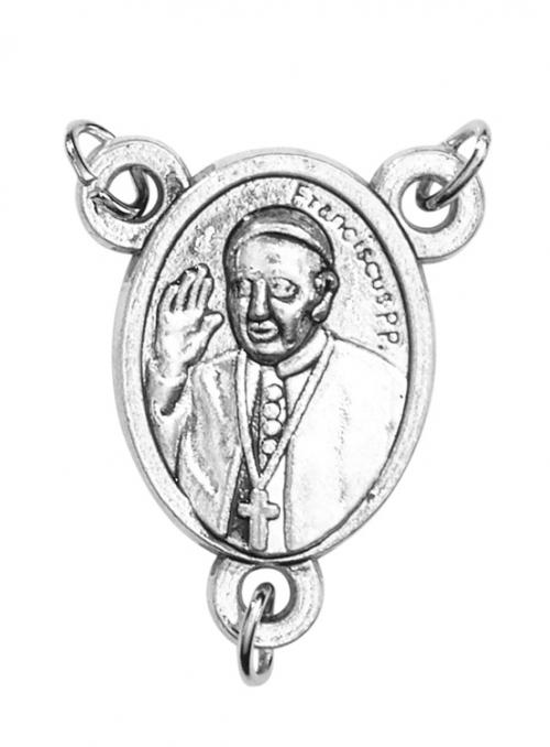 Pope Francis Rosary Centerpiece - 50/pk