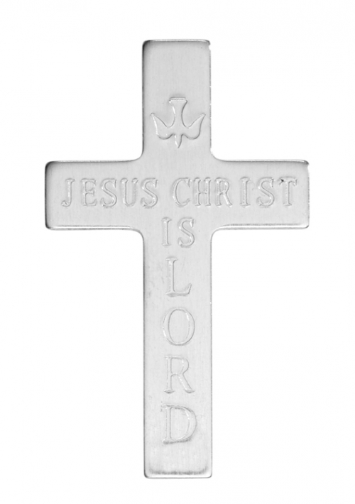 Jesus Christ is Lord Pocket Cross - 100/pk